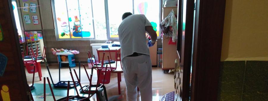 Limpeza colexios Vigo